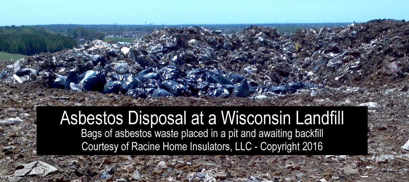 Asbestos Vermiculite Waste At Wisconsin Landfill Racine